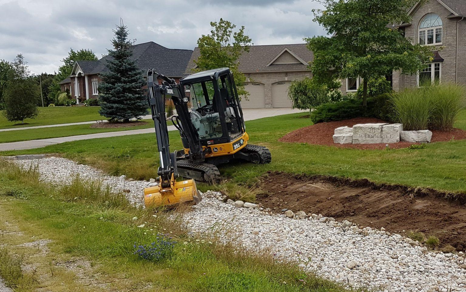 construction garden landscaping