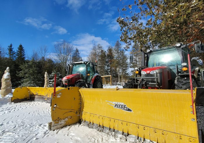 snow removal garden landscaping